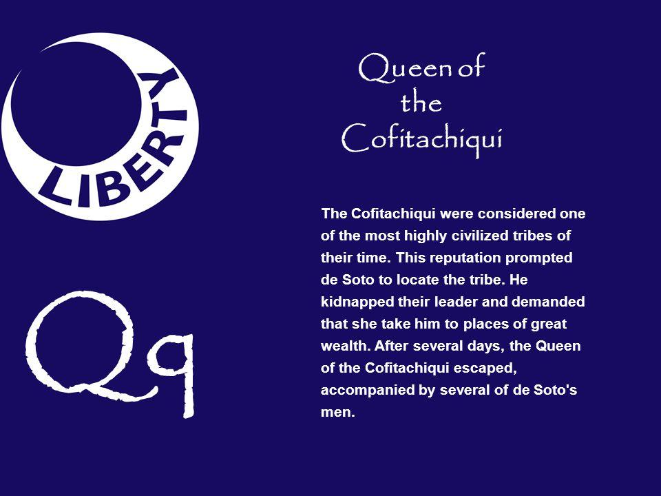 Queen of the Cofitachiqui