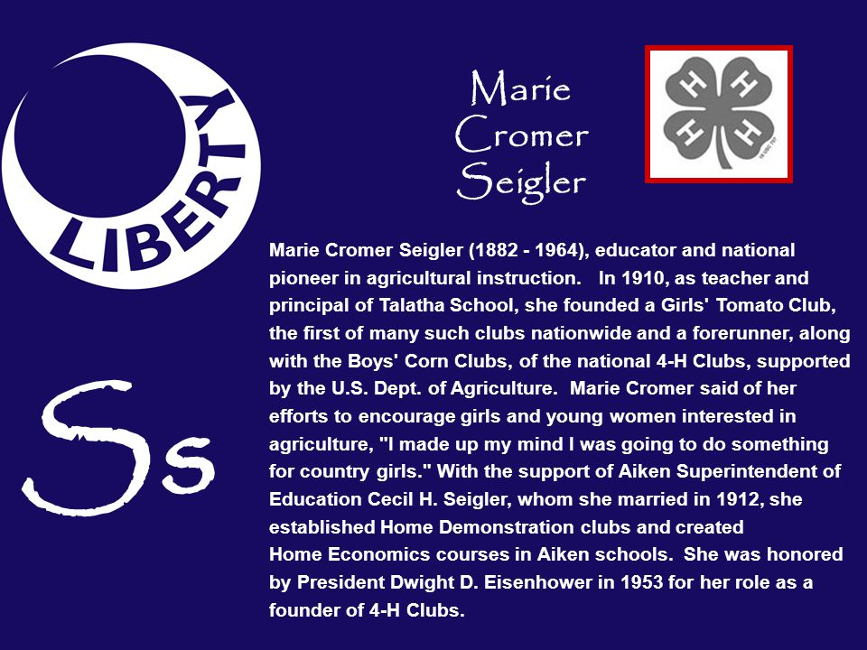 Ss Marie Cromer Seigler