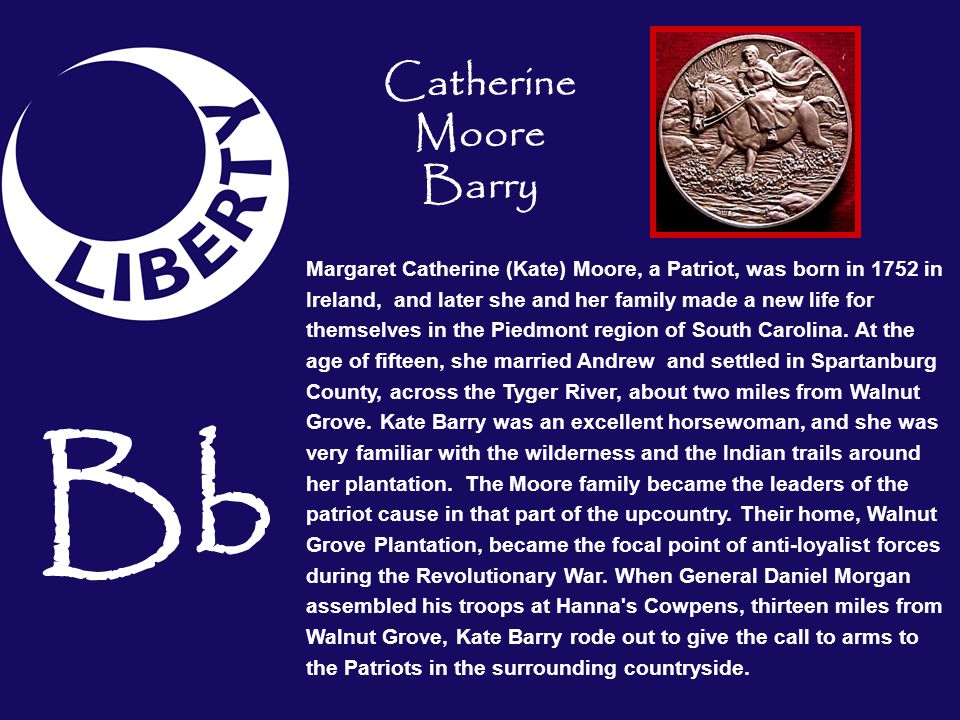 Bb Catherine Moore Barry