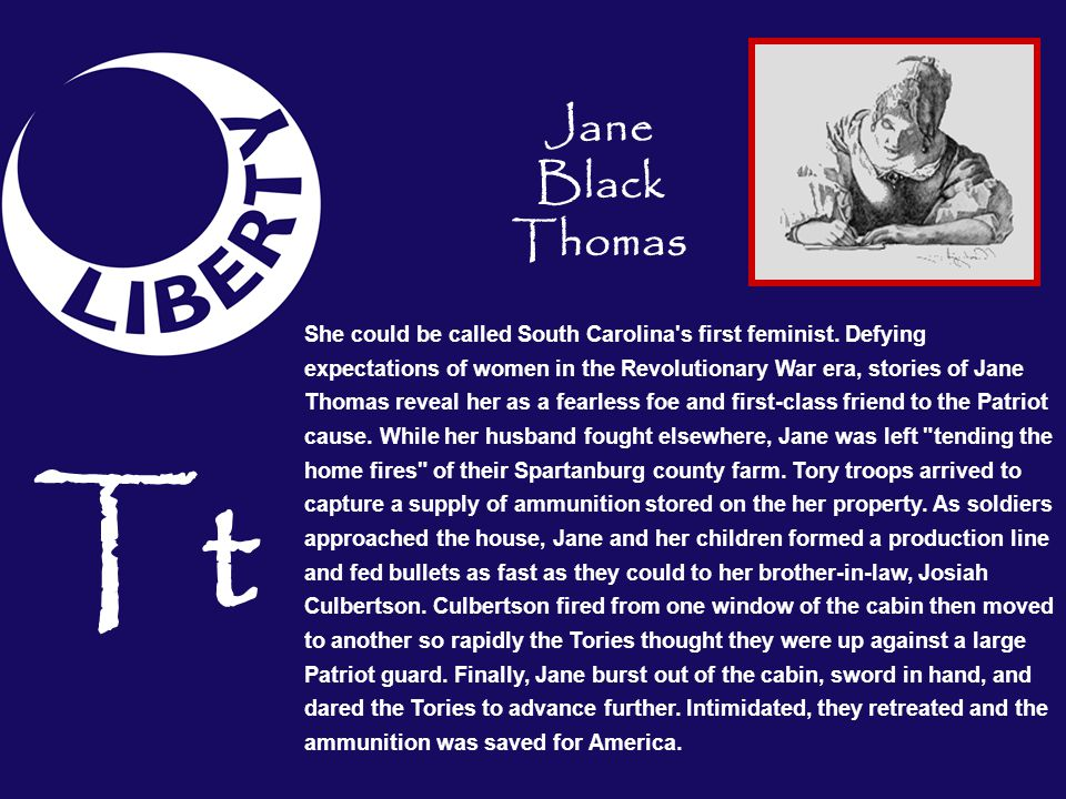 Jane Black Thomas