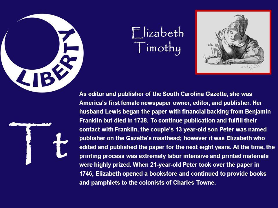 Elizabeth Timothy