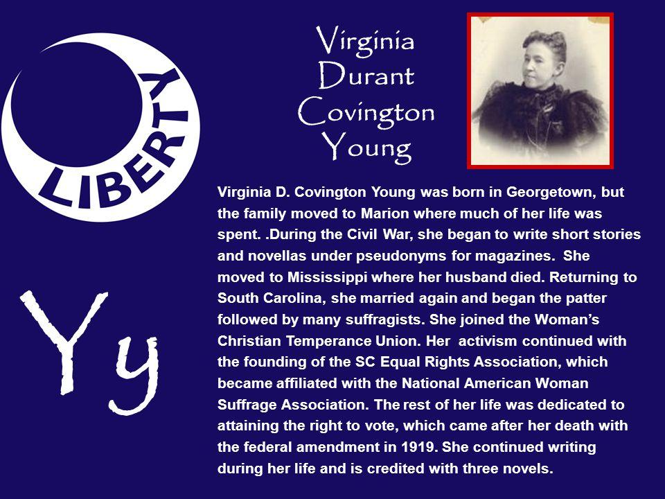 Virginia Durant Covington Young