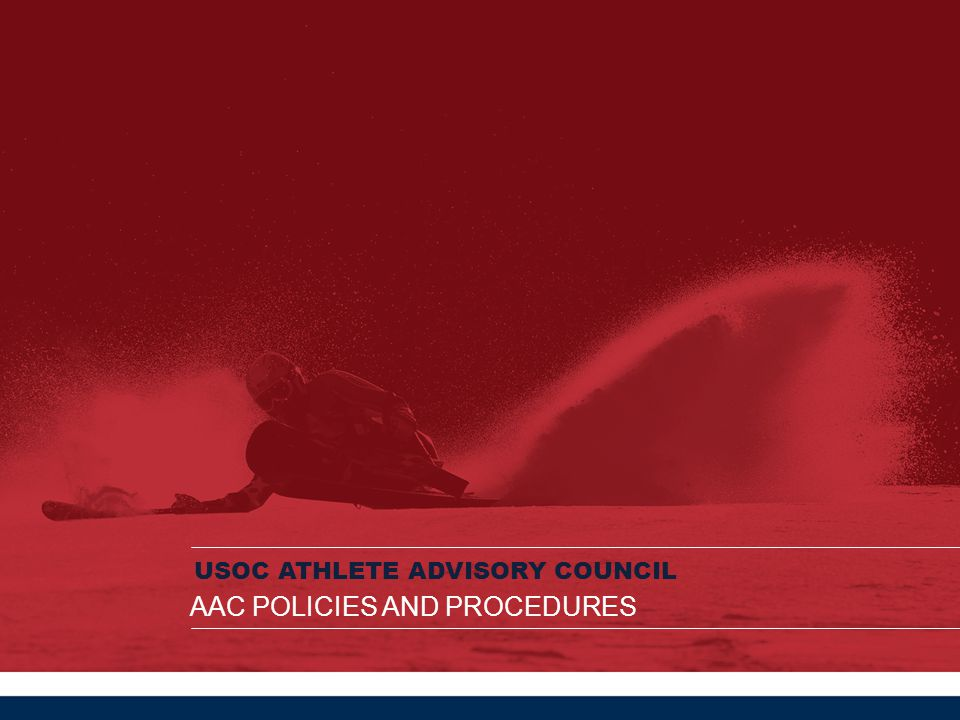 AAC Policies and Procedures