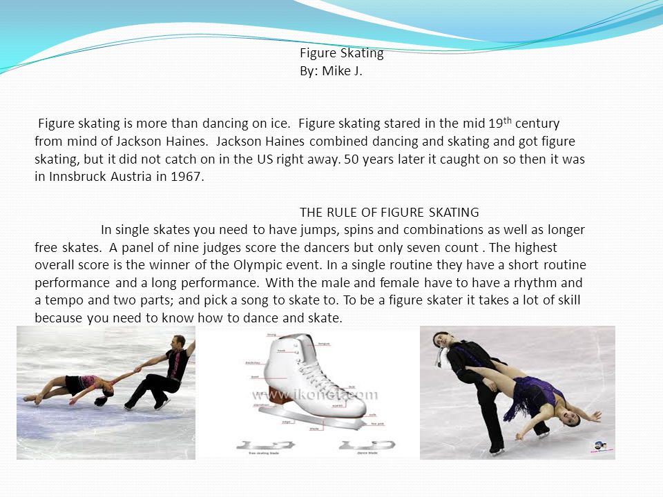 Figure Skating By: Mike J.