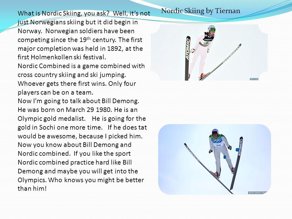 Nordic Skiing by Tiernan