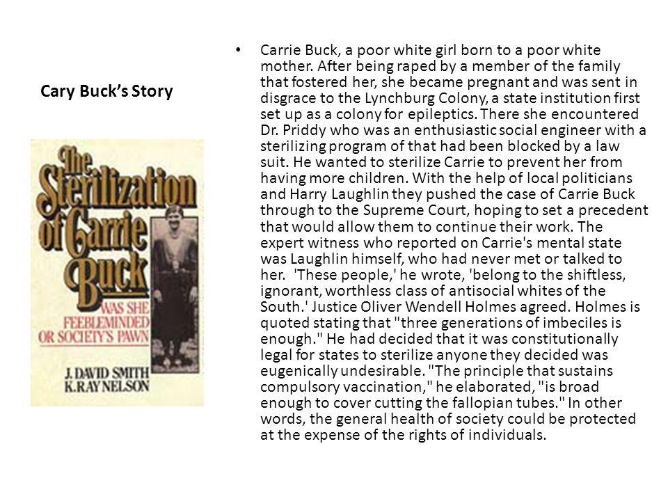 Cary Buck's Story