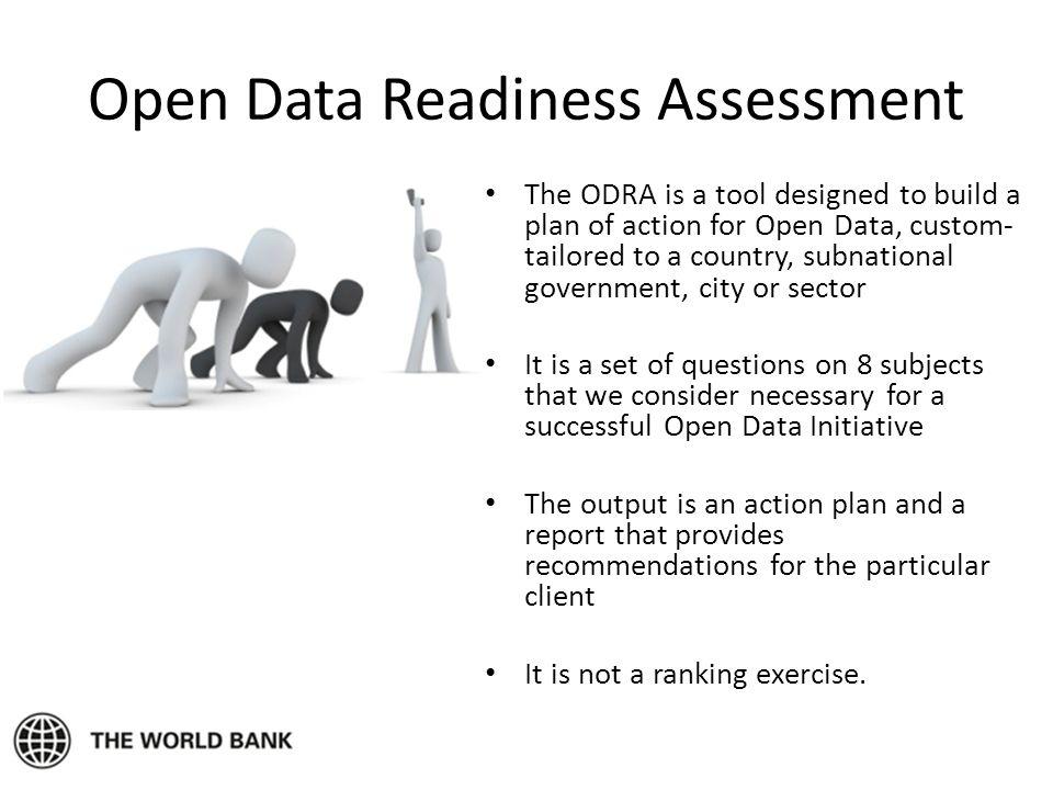 Open Data Readiness Assessment