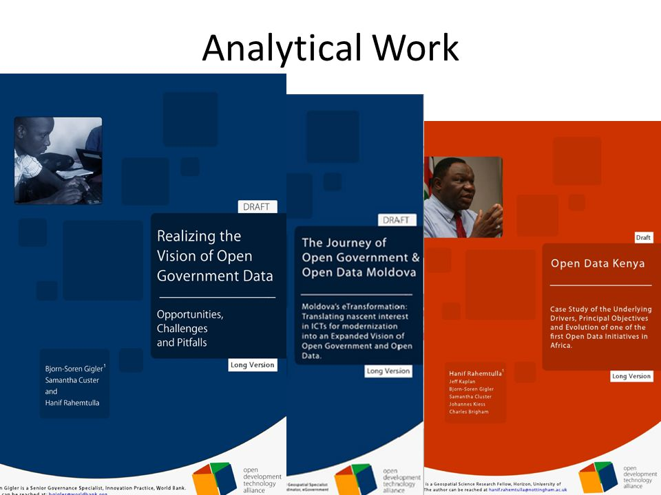 Analytical Work