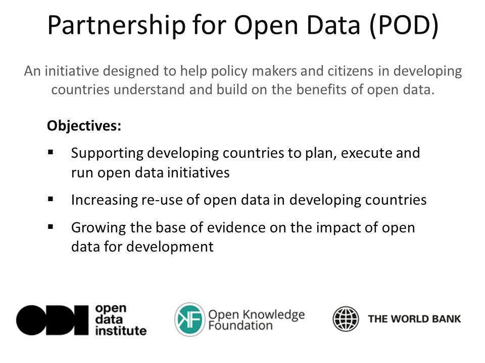 Partnership for Open Data (POD)