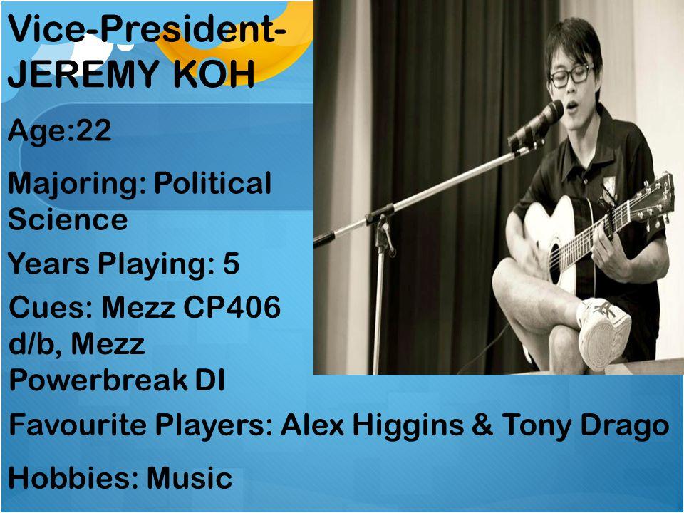 Vice-President-JEREMY KOH