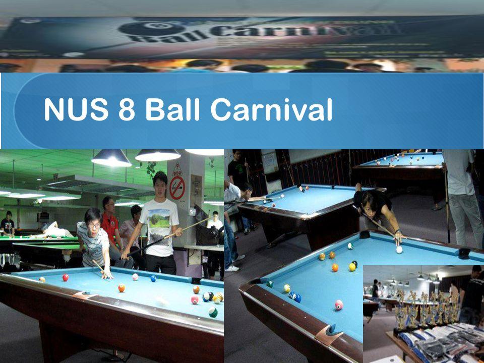 NUS 8 Ball Carnival