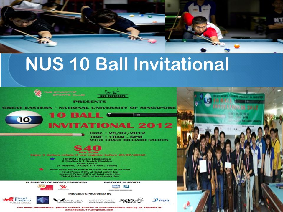 NUS 10 Ball Invitational