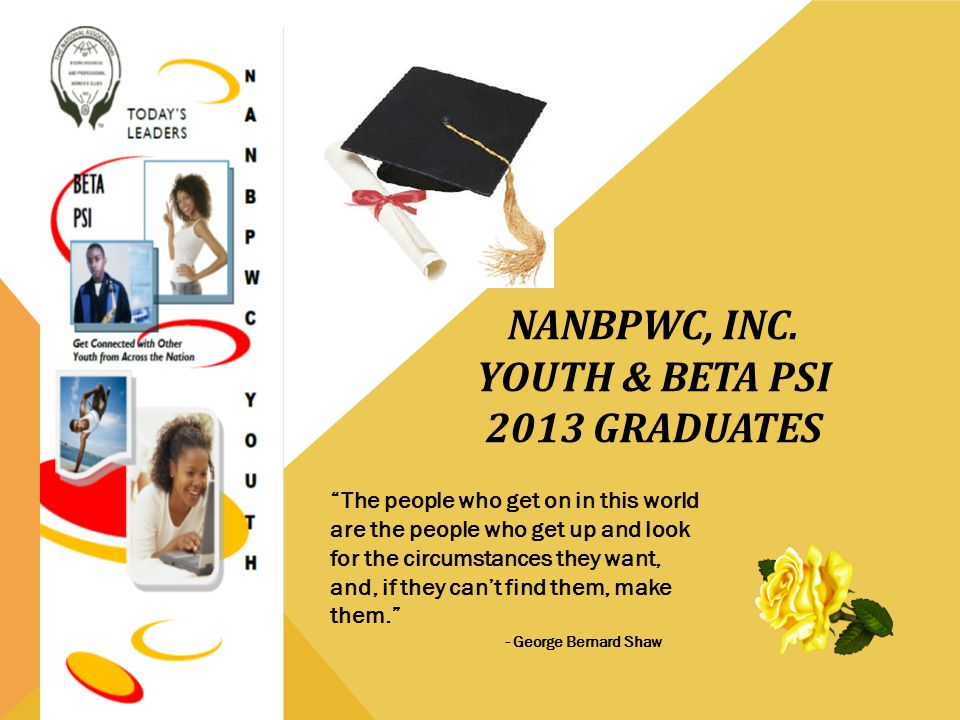 NANBPWC, Inc. Youth & Beta Psi 2013 Graduates