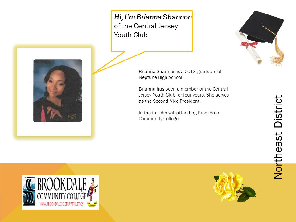 Hi, I'm Brianna Shannon of the Central Jersey Youth Club