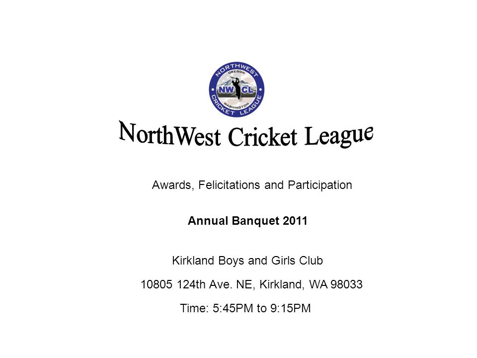 NorthWest Cricket League