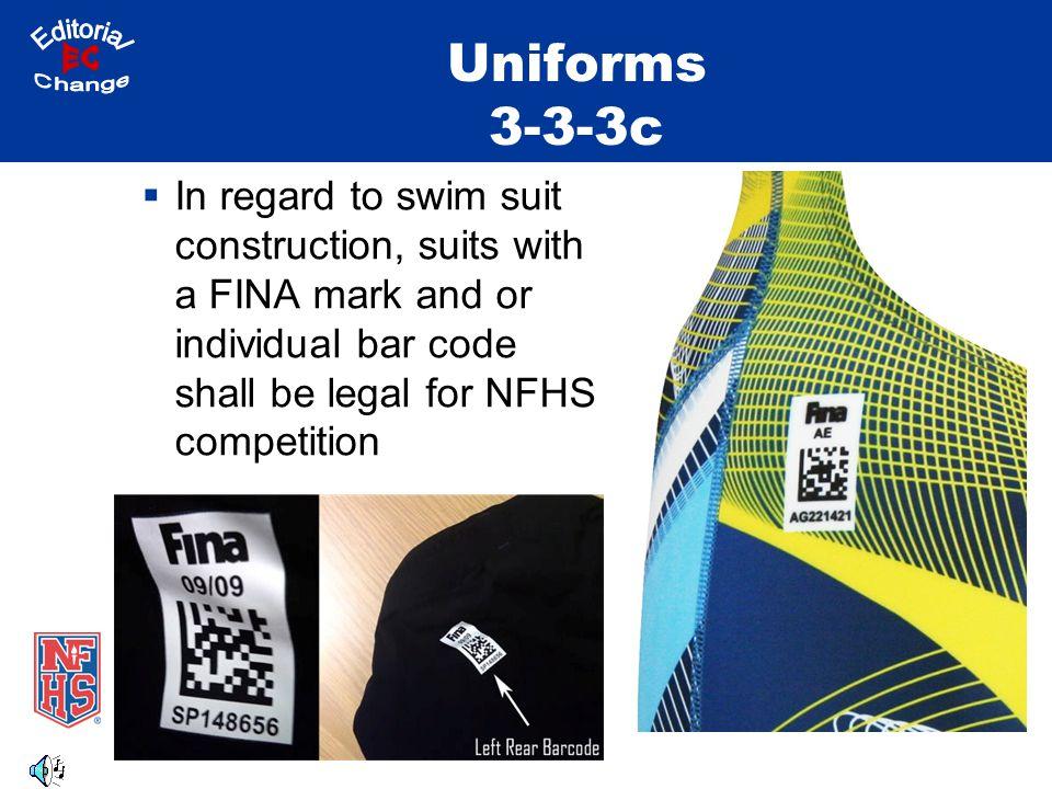 Uniforms 3-3-3c Editorial EC