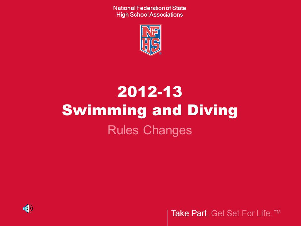 2012-13 Swimming and Diving Rules Changes