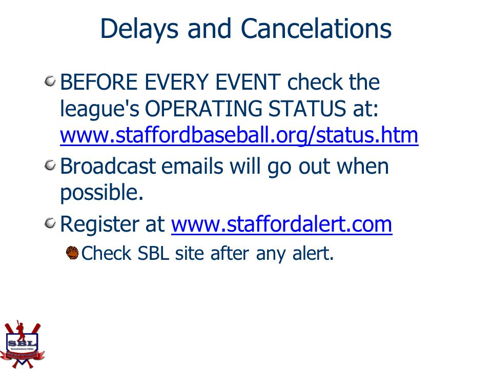 Delays and Cancelations
