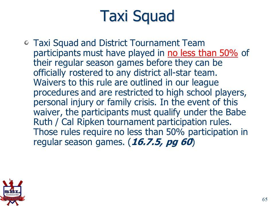Taxi Squad