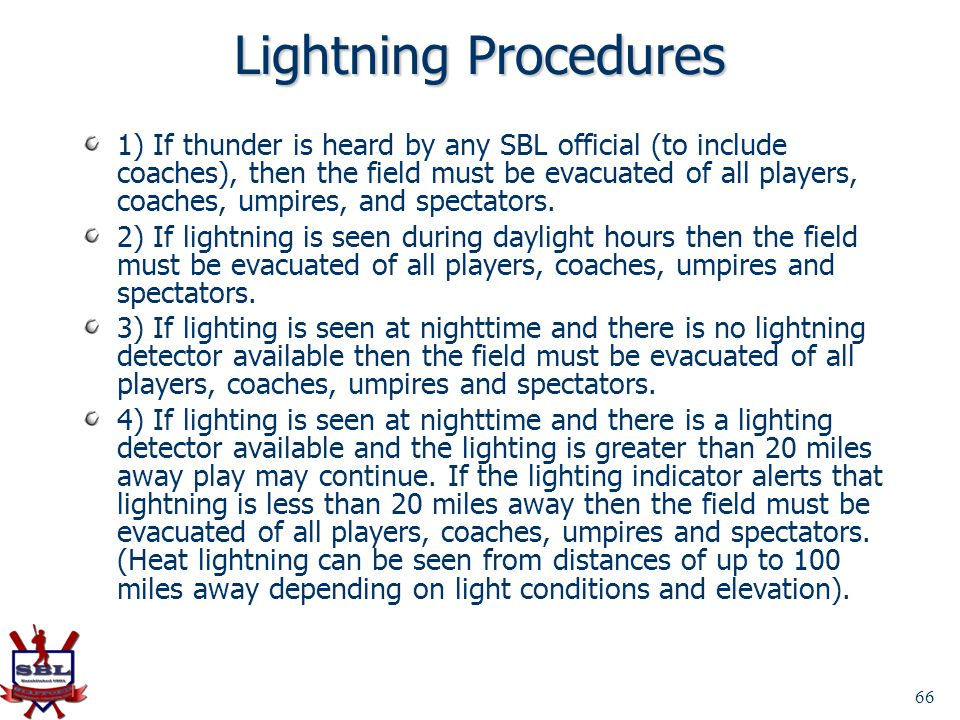 Lightning Procedures