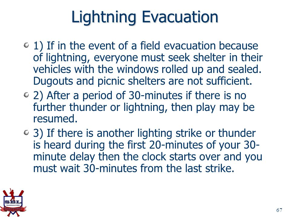 Lightning Evacuation