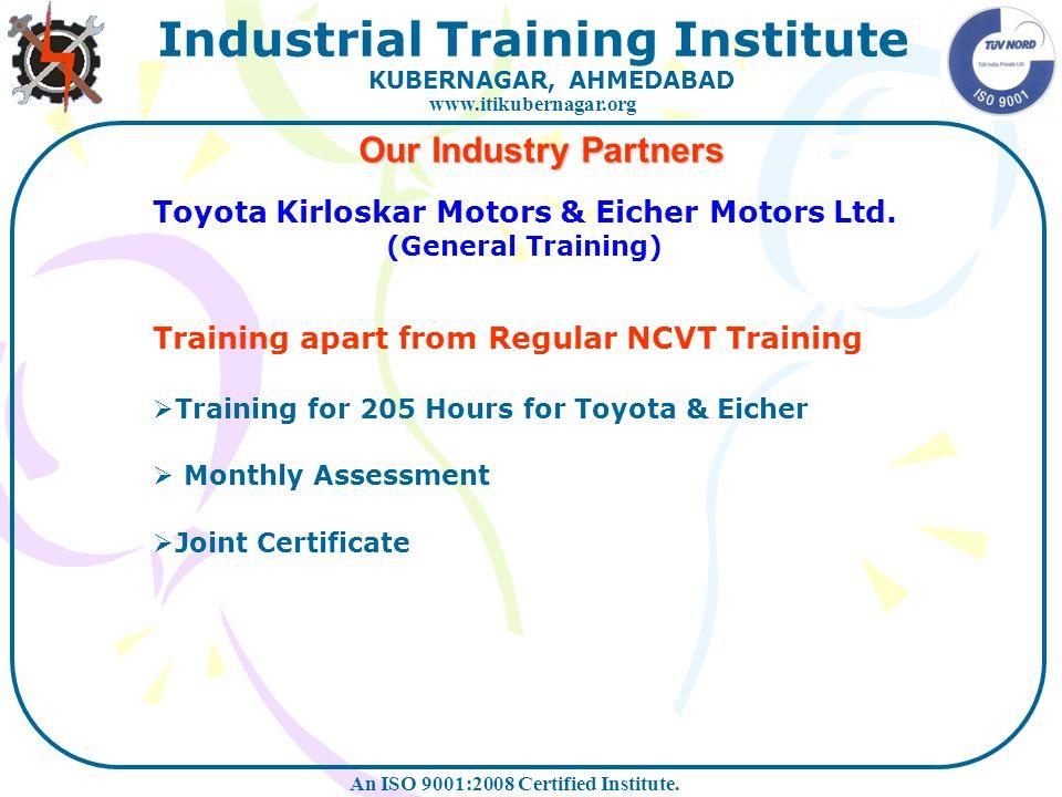 Toyota Kirloskar Motors & Eicher Motors Ltd.