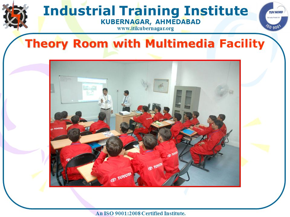 Theory Room with Multimedia Facility