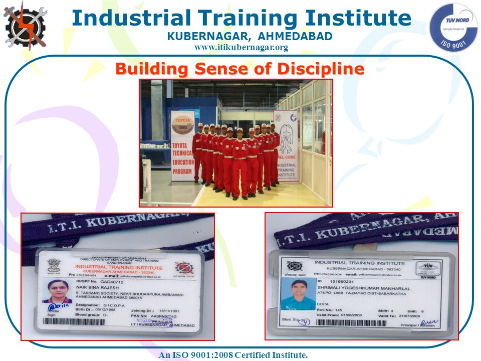 Building Sense of Discipline