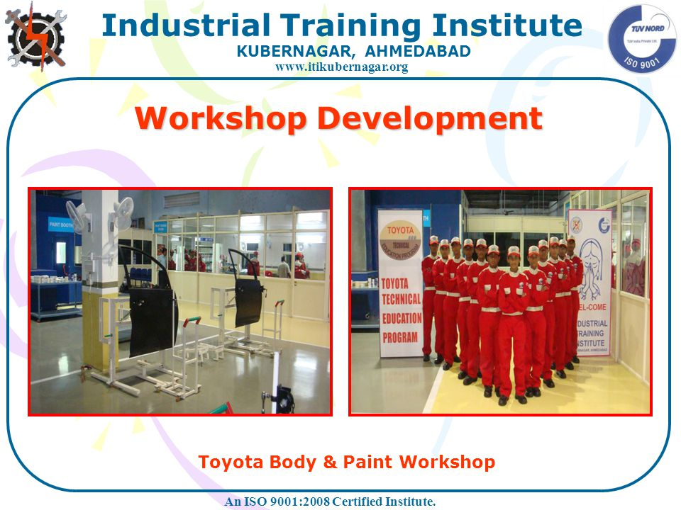Workshop Development Toyota Body & Paint Workshop
