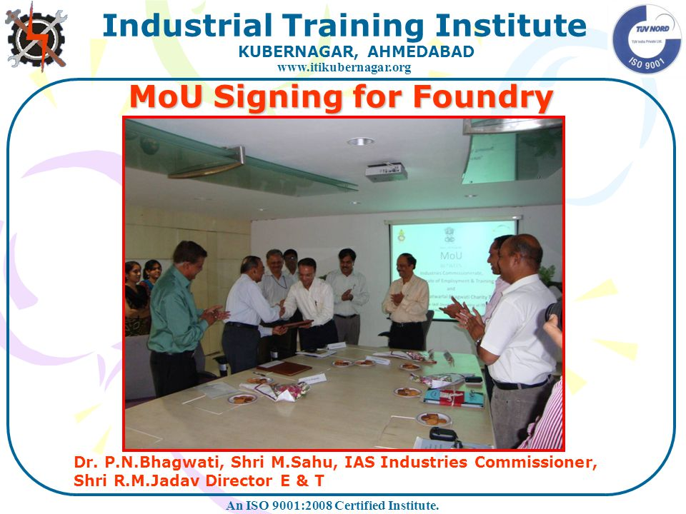 MoU Signing for Foundry
