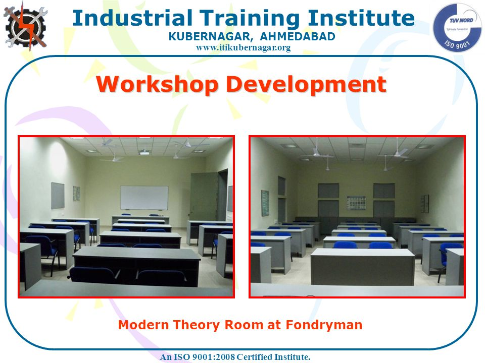 Workshop Development Modern Theory Room at Fondryman