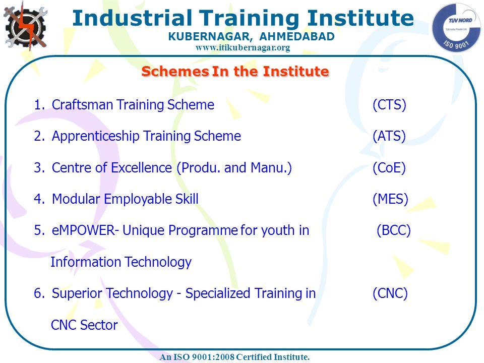 Schemes In the Institute