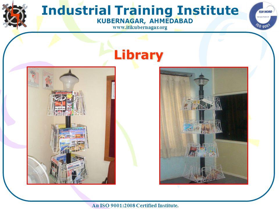 Library At Eicher Workshop At I.T.I. Workshop