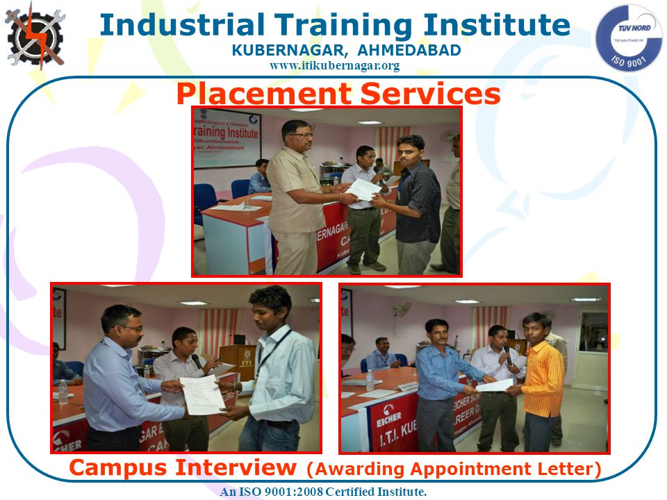Campus Interview (Awarding Appointment Letter)