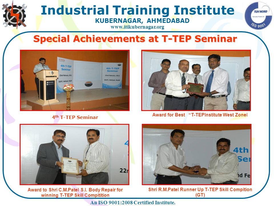 Special Achievements at T-TEP Seminar