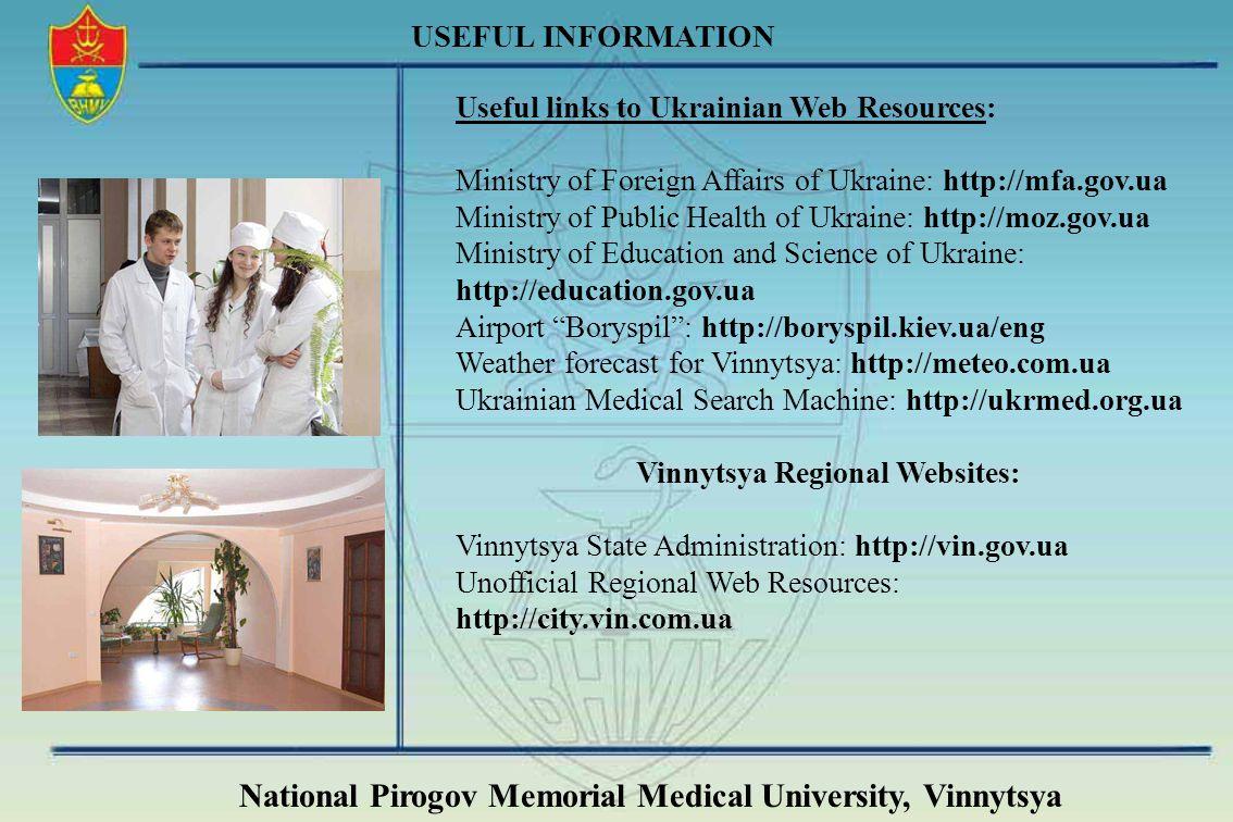 Vinnytsya Regional Websites: