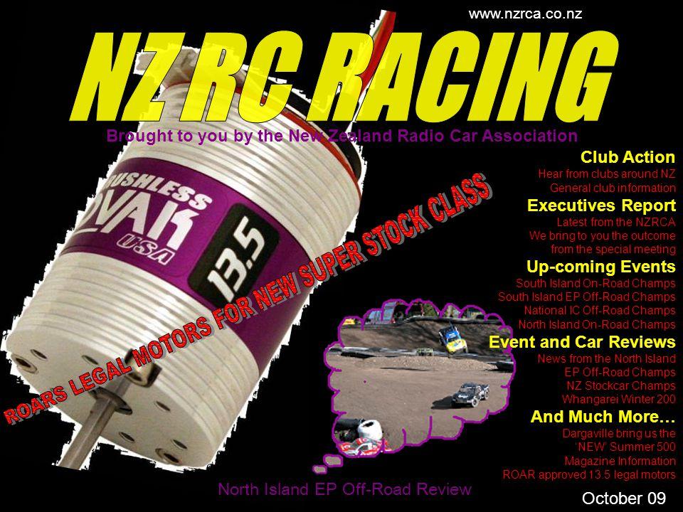 NZ RC RACING ROARS LEGAL MOTORS FOR NEW SUPER STOCK CLASS