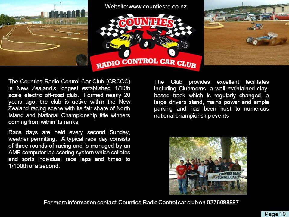 Website:www.countiesrc.co.nz