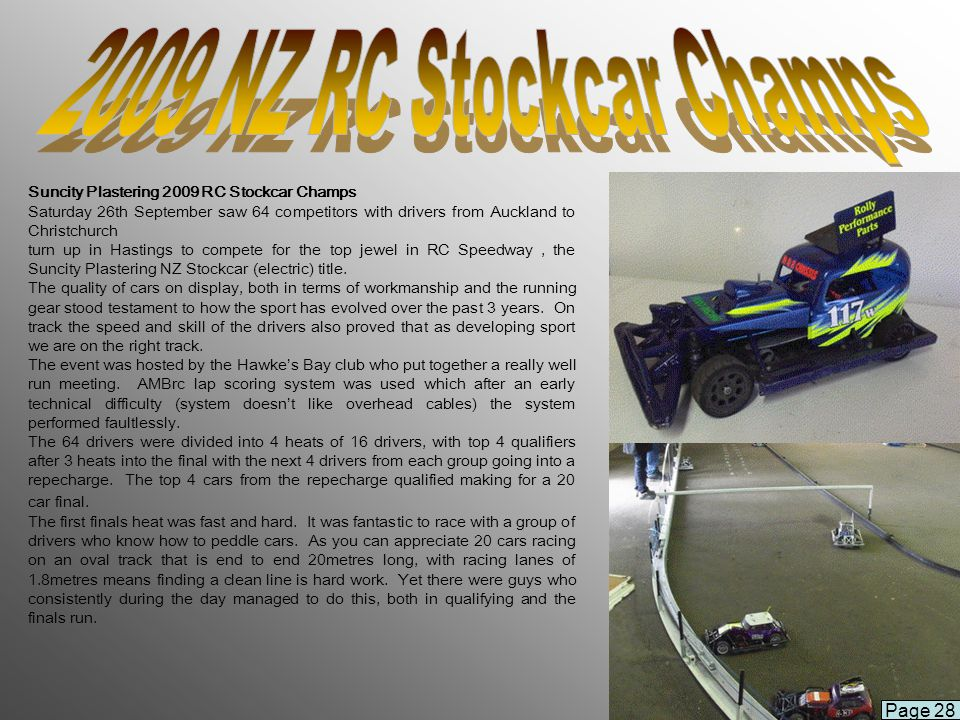 2009 NZ RC Stockcar Champs Page 28