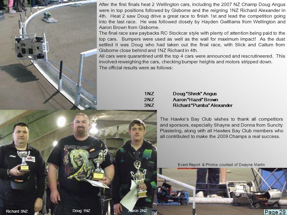 Event Report & Photos courtest of Dwayne Martin