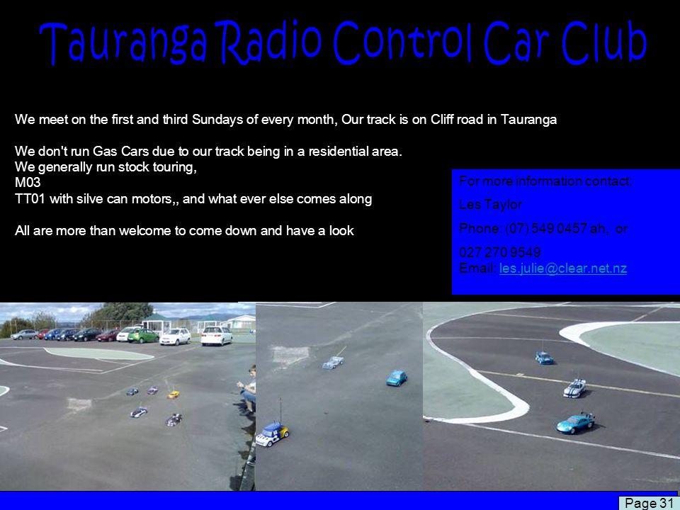 Tauranga Radio Control Car Club