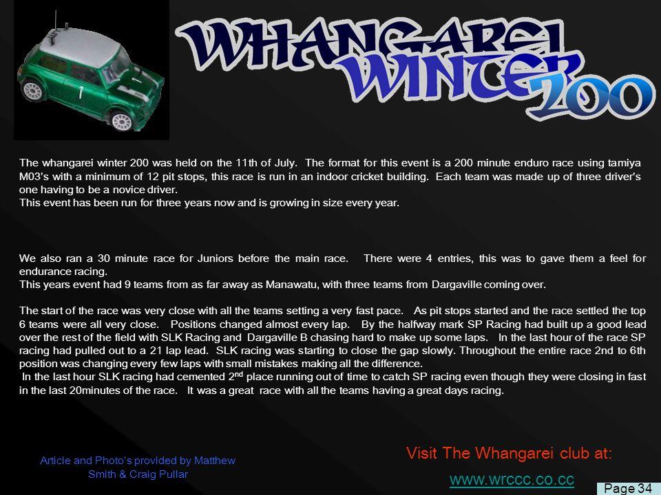 Visit The Whangarei club at: