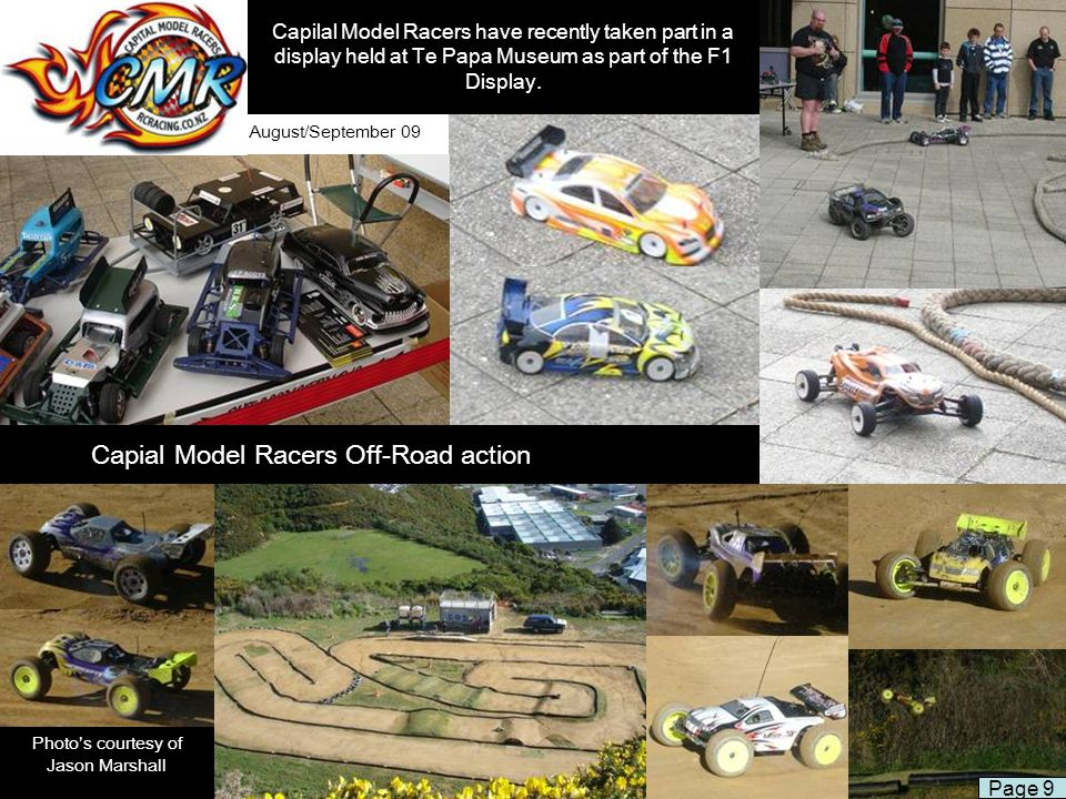 Capial Model Racers Off-Road action