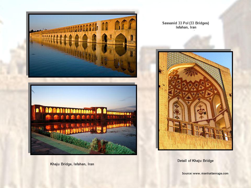 Sassanid 33 Pol (33 Bridges) Isfahan, Iran Khaju Bridge, Isfahan, Iran