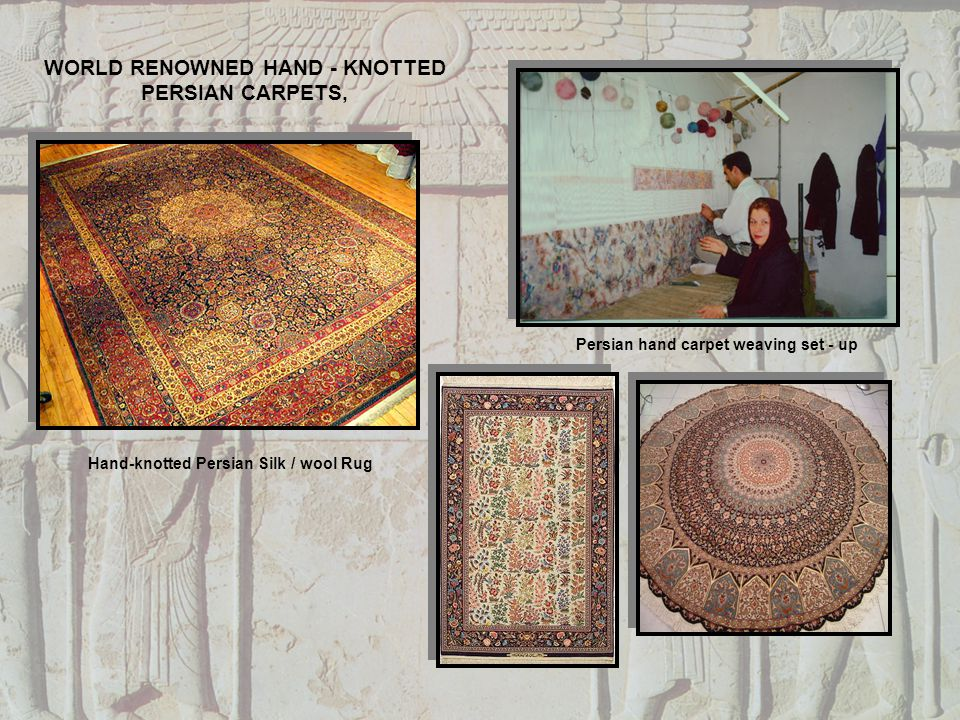 WORLD RENOWNED HAND - KNOTTED PERSIAN CARPETS,