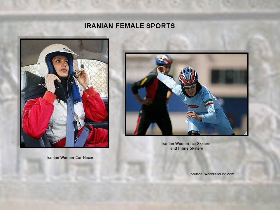 IRANIAN FEMALE SPORTS Iranian Women Ice Skaters and Inline Skaters