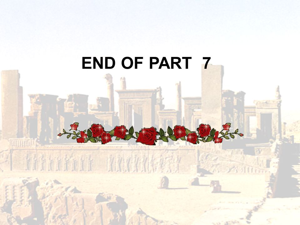 END OF PART 7