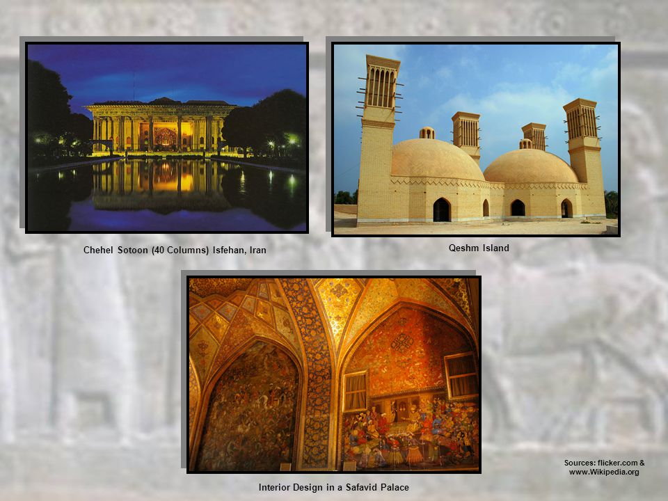 Interior Design in a Safavid Palace