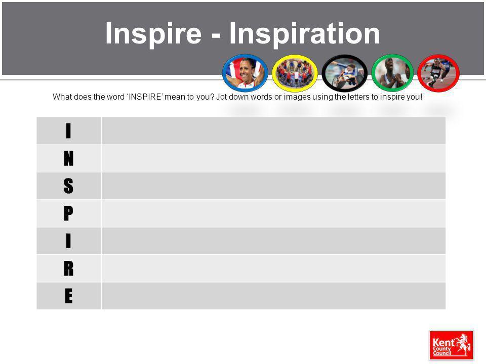 Inspire - Inspiration I N S P R E