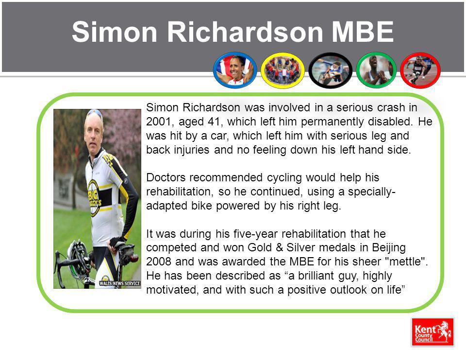 Simon Richardson MBE
